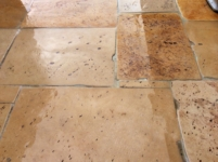 AGED OF ANTIQUE DALLE DE BOURGOGNE, FRENCH LIMESTONE FLOORING,3 CM THICK (1,2 inch)OPUS ROMAN.PRICE CALL.+39-3389482831