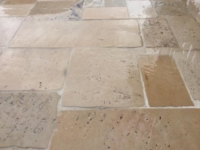 AGED ANTIQUE DALLE DE BOURGOGNE, FAMOUS RECYCLED FRENCH STONE FLOORING, 3 CM THICK (1,2 inch) OPUS-PRICE CALL.+39-3389482831